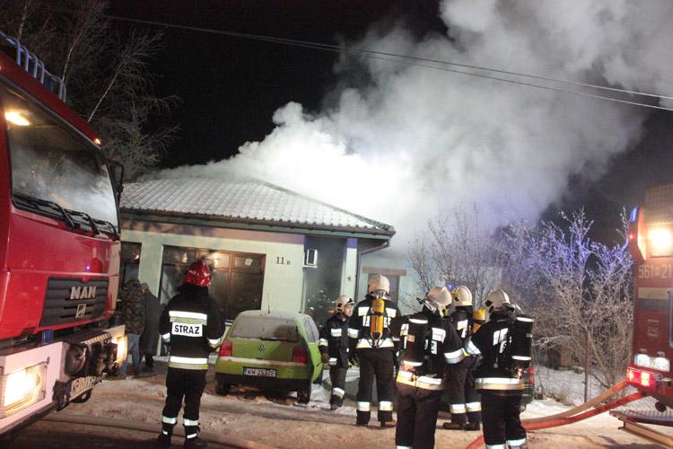 W akcji gaśniczej wzięło udział 26 strażaków