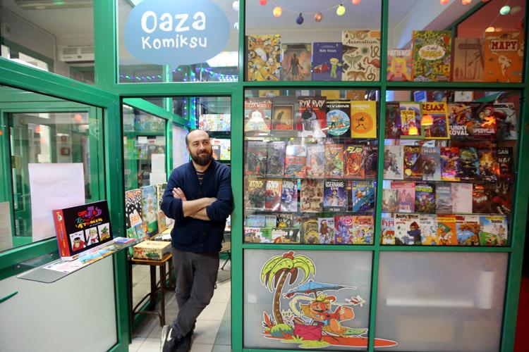 Sklep z komiksami w Piasecznie