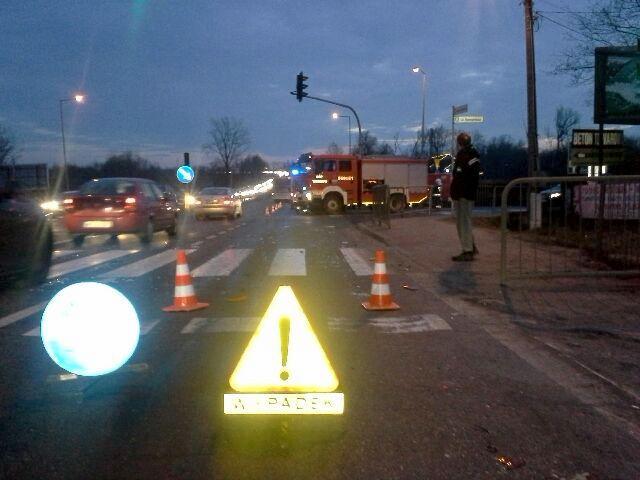 Wypadek w Tarczynie