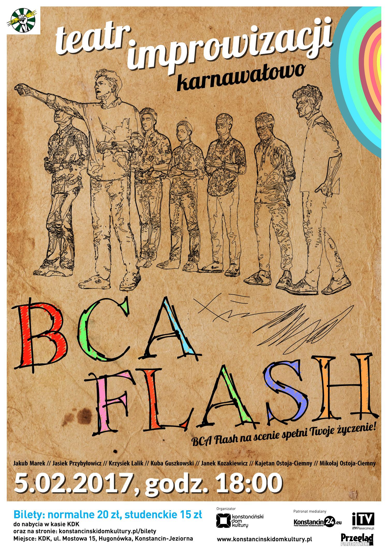 BCA Flash karnawałowo