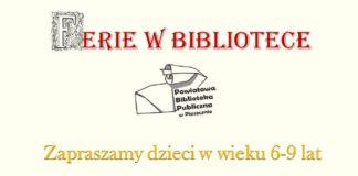 Ferie w bibliotece w Piasecznie
