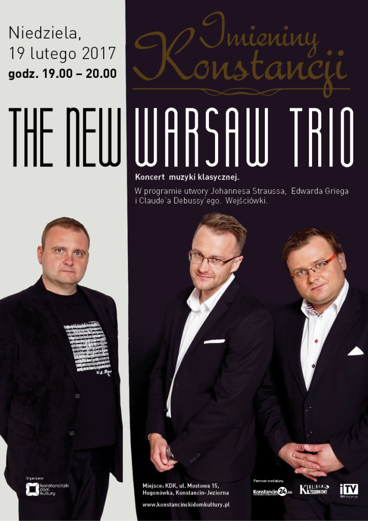 Koncert The New Warsaw Trio