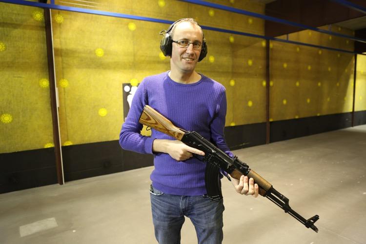 - Treningi na strzelnicy to dla mnie chwile odprężenia i relaksu - mówi Michał Otręba.