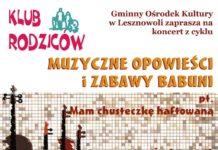 Muzyczne opowieści i zabawy babuni