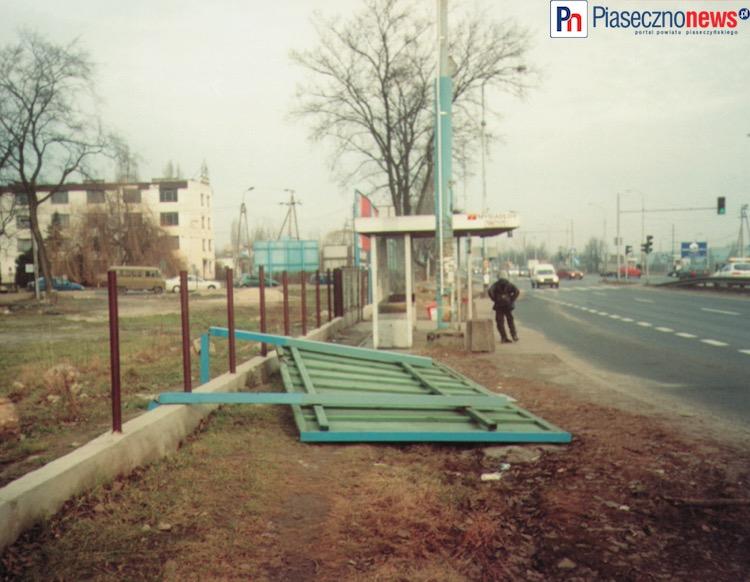Zerwany dach z GOSiR w Piasecznie