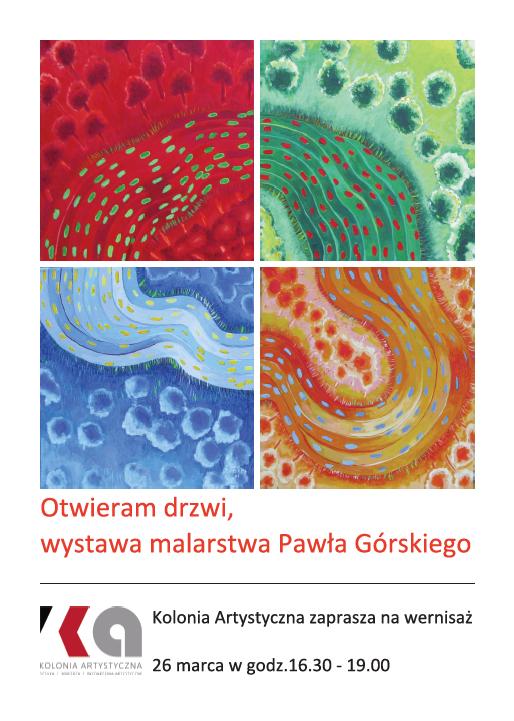 Wystawa malarska Pawła Górskiego