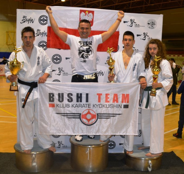 sukces bushi team w hiszpanii
