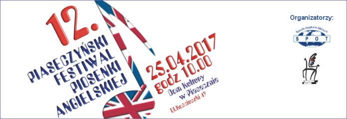12. Piaseczyński Festiwal Piosenki Angielskiej