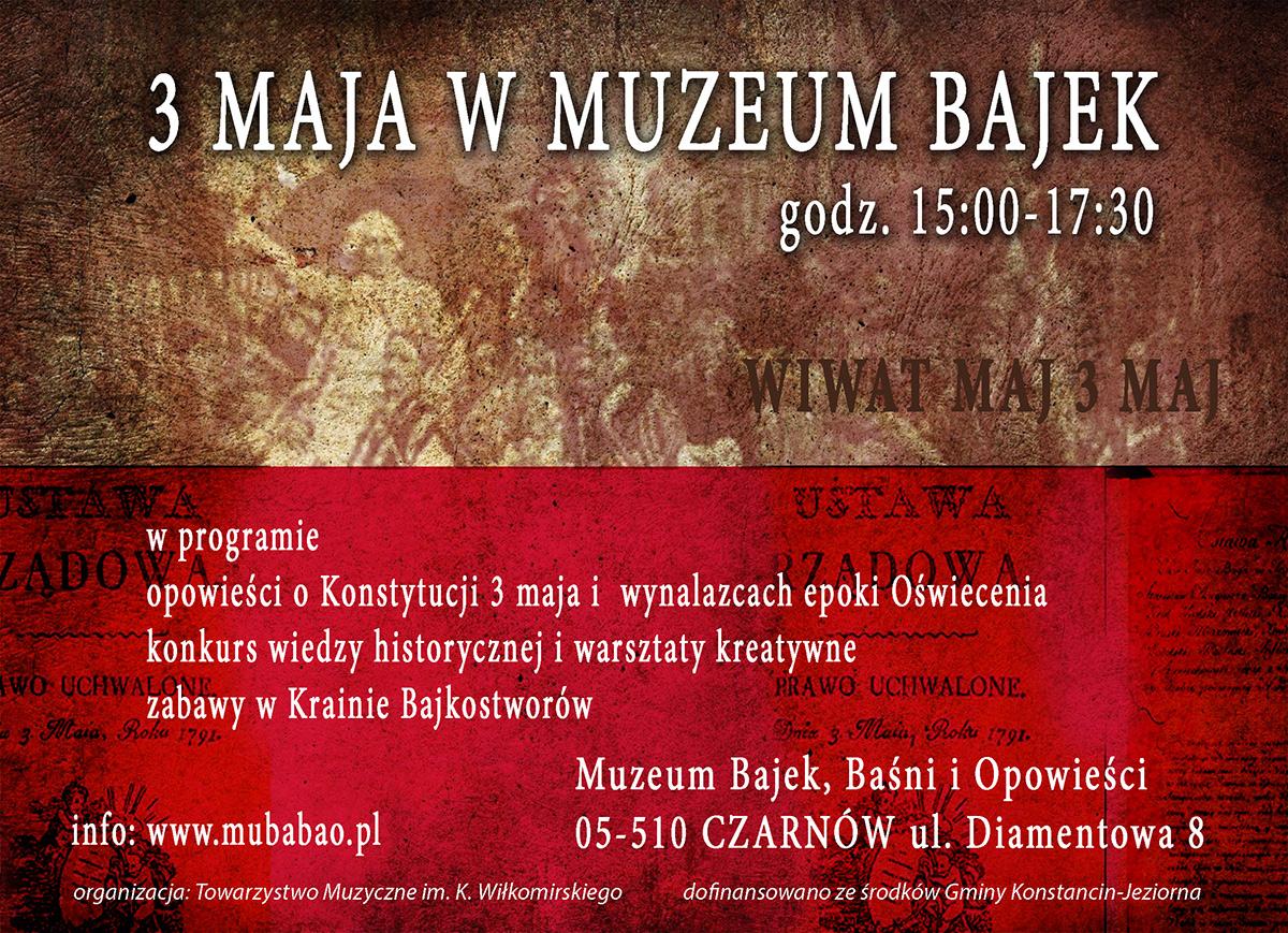 3 Maja w Muzeum Bajek, Baśni i Opowieści