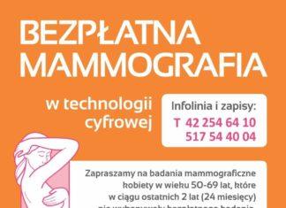 Bezpłatna mammografia w Górze Kalwarii