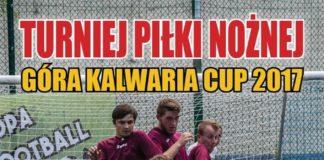 Turniej piłki nożnej o Puchar Burmistrza Góry Kalwarii