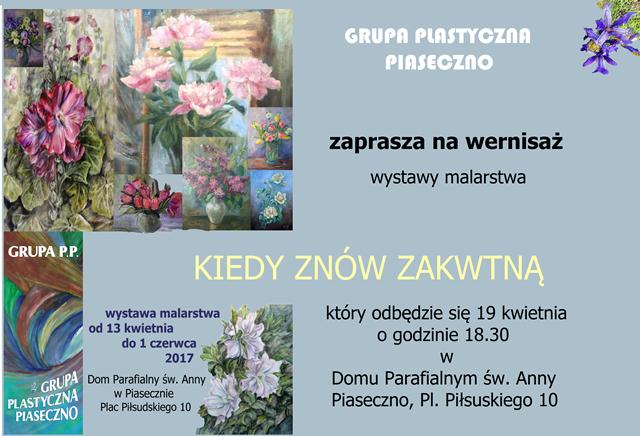 Wernisaż prac Grupy Piaseczno