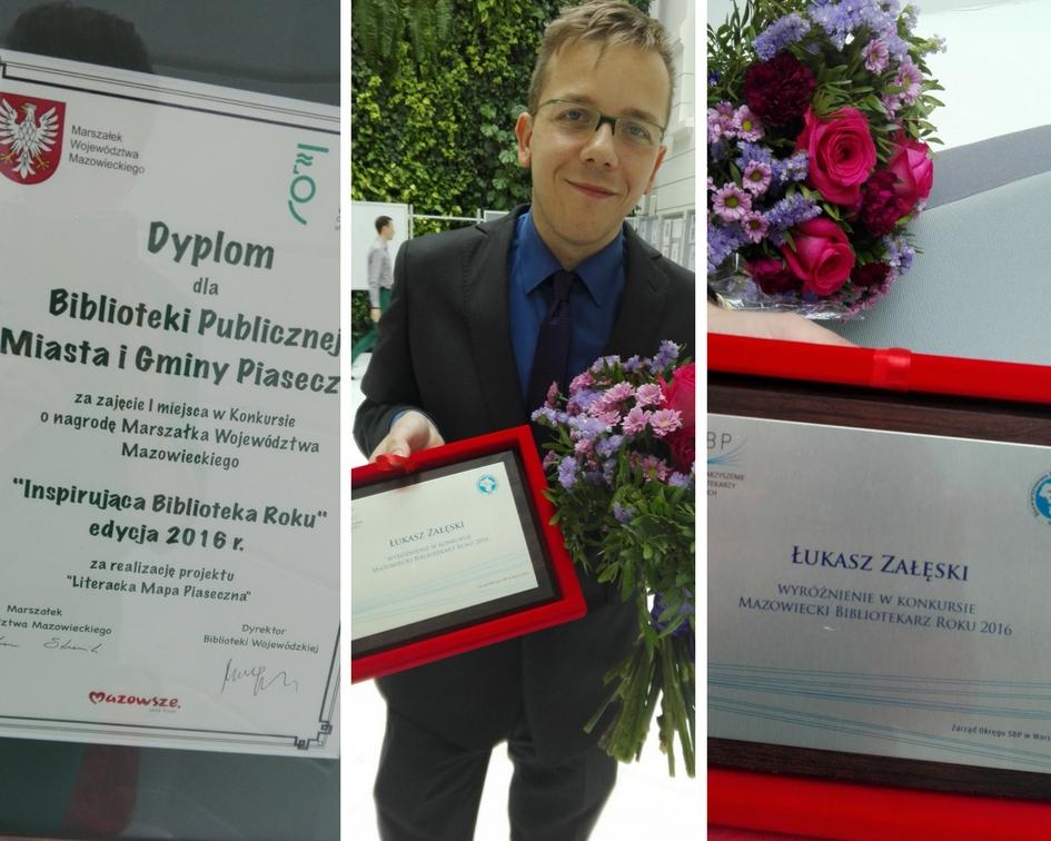 Łukasz Załęski Bibliotekarzem Roku