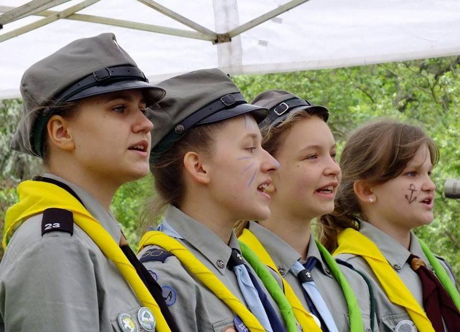 800 harcerzy na zbiórce Chorągwi Stołecznej