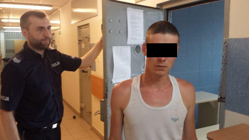 Aresztowano dwóch Ukraińców - jednego za kradzież karty bankomatowej, drugiego za marihuanę