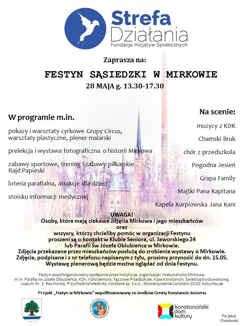Festyn Sąsiedzki w Mirkowie