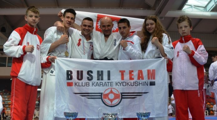 Trzy medale dla karateków z Bushi Team