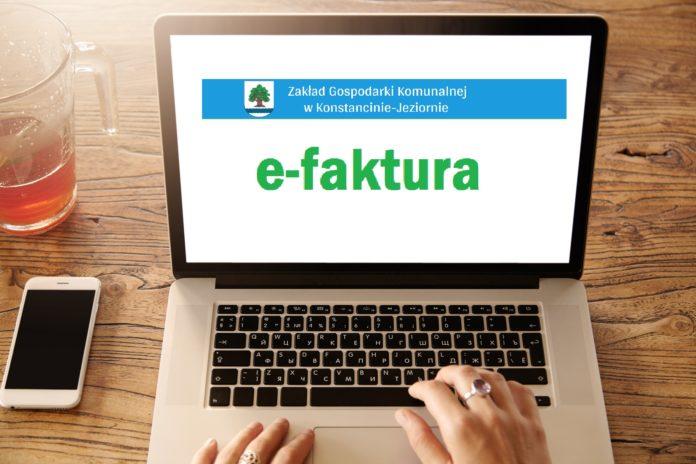 E-faktura dostępna w ZGK Konstancin-Jeziorna