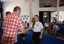 Młodzi sportowcy nagrodzeni