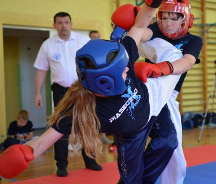 Najmłodsi mistrzami kickboxingu