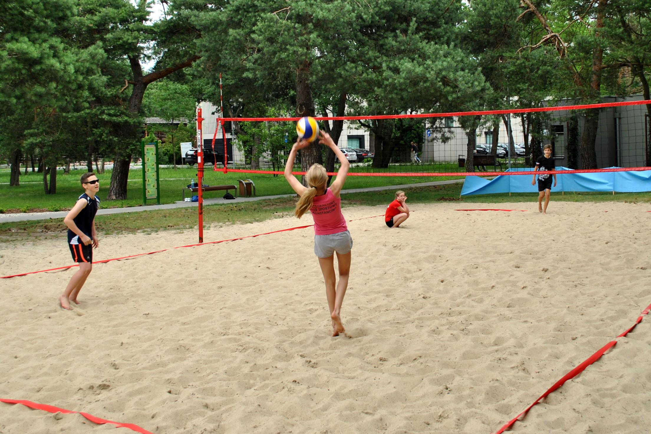 Ruszyła liga siatkówki plażowej