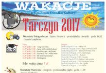 Wakacje w Gminnym Ośrodku Kultury w Tarczynie