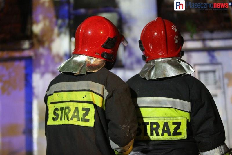 Pożar w domu jednorodzinnym. Pięć zastępów straży pożarnej w drodze! [AKTUALIZACJA]