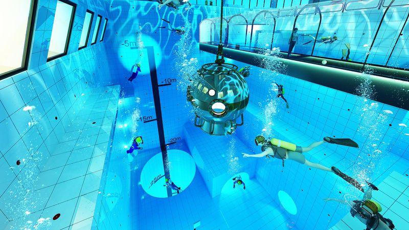 Budują najgłębszy basen na świecie!