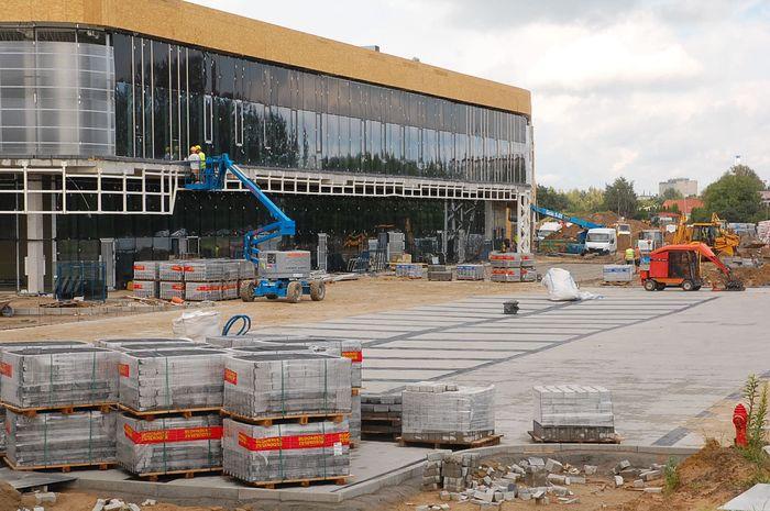 Centrum handlowe prawie gotowe. Wielkie otwarcie już w październiku!