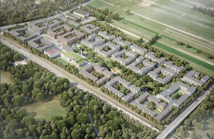 Gigantyczne osiedle na granicy Ursynowa i Lesznowoli