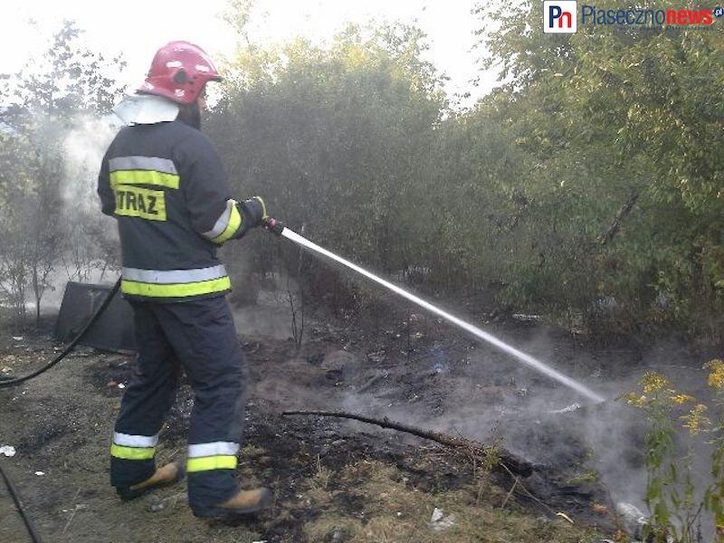 Pożar przy obwodnicy!