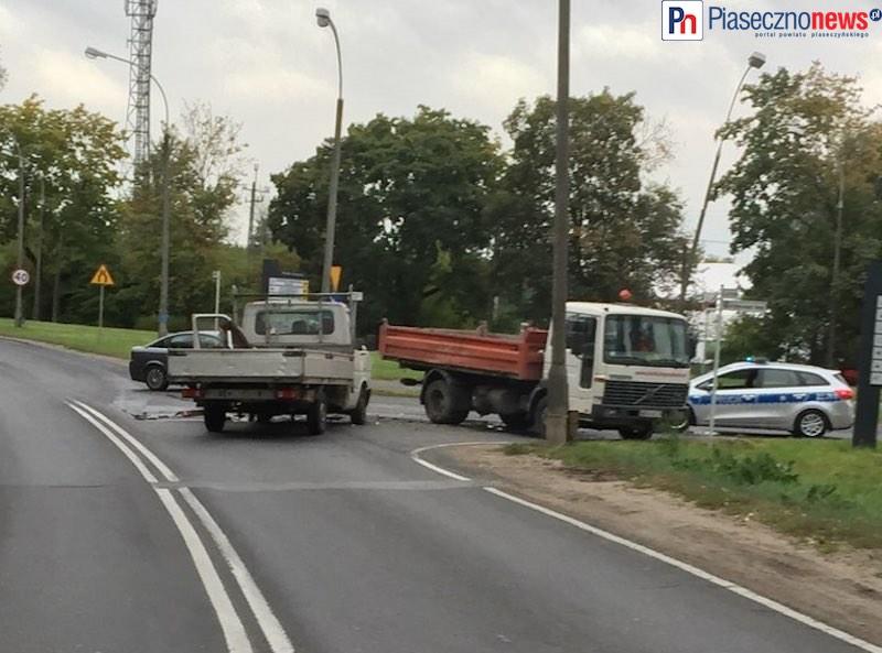 Wypadek na wyjeździe z Piaseczna