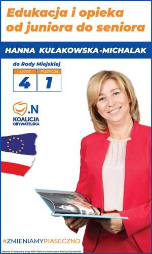 Hanna Kułakowska-Michalak
