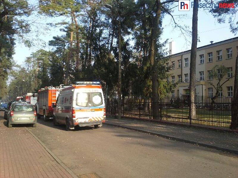 Rozpylono gaz w szkole. Ewakuowano uczniów