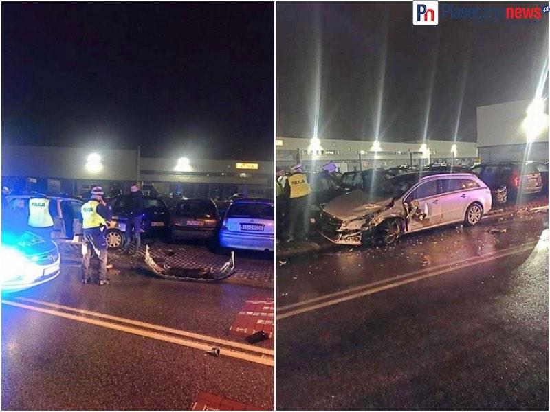 Uciekali przed policją, uszkodzili 7 samochodów! Kilka osób rannych
