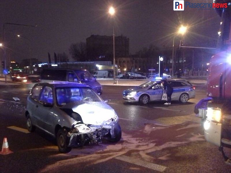 Wypadek! Jedna osoba trafiła do szpitala