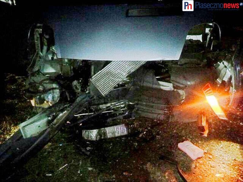 Czołowe zderzenie na trasie do Piaseczna. Co najmniej trzy osoby ranne! [AKTUALIZACJA]