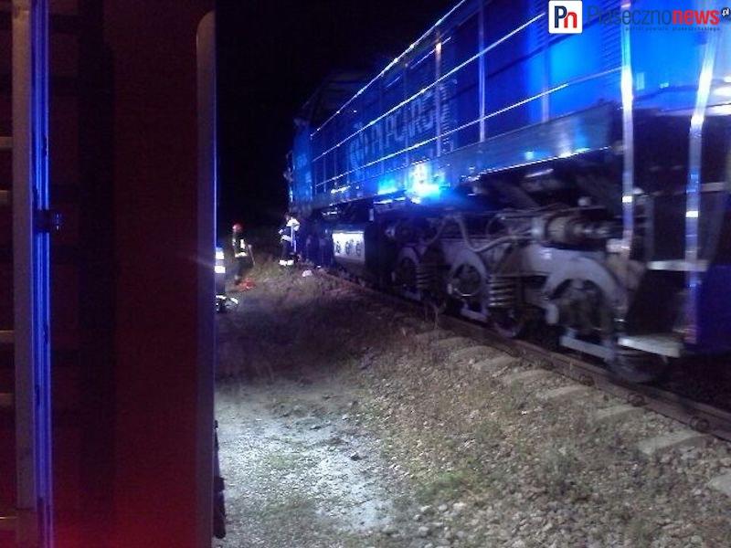 Wypadek na torach kolejowych! Mężczyzna wpadł pod lokomotywę!