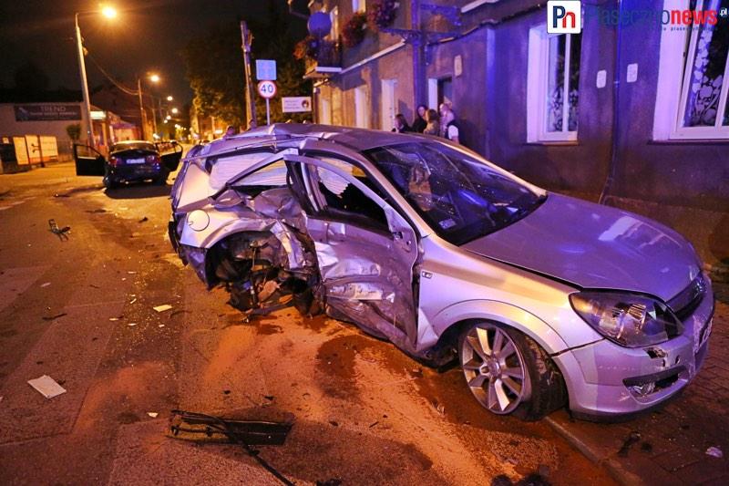 Huk i krzyk! Wypadek w centrum miasta
