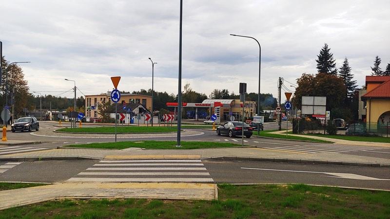 Rondo w Gołkowie foto Łukasz Wyleziński