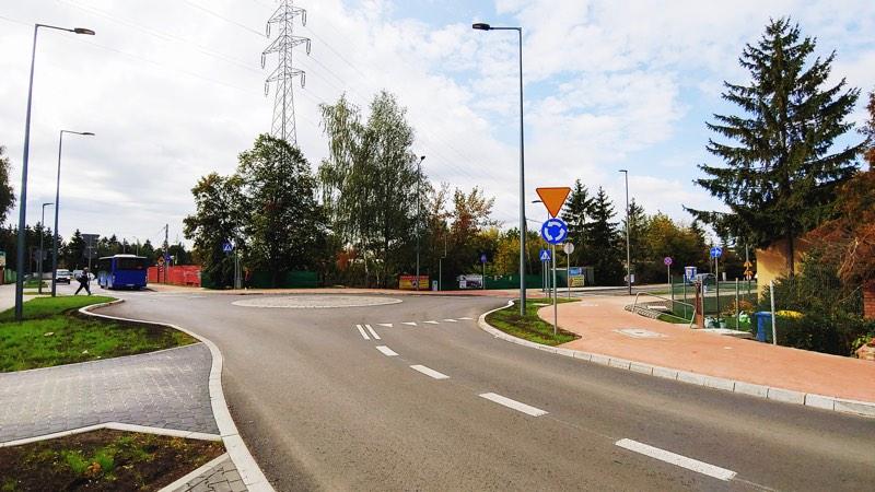 Rondo Geodetów/Julianowska w Józefosławiu
