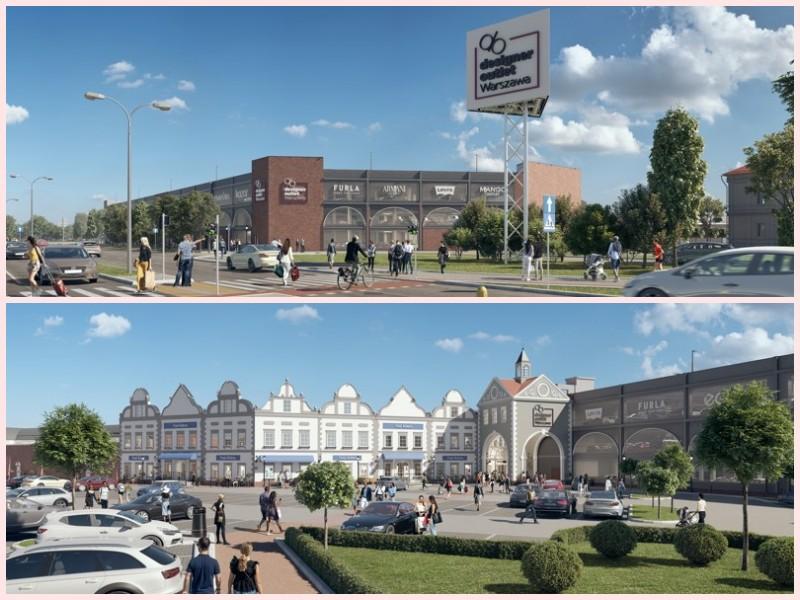 Designer Outlet powiększa przestrzeń handlową i parkingową