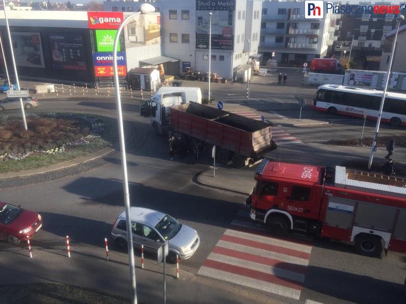 Kobieta wpadła pod ciężarówkę [AKTUALIZACJA]