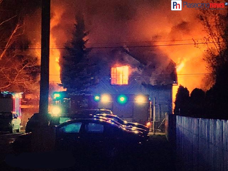 Pożar przy ul. Kniaziewicza!