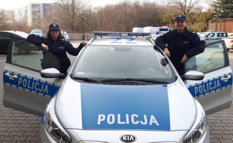 Policjantki uratowały niedoszłą samobójczynię