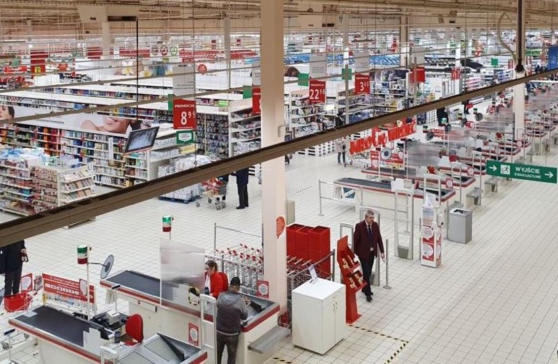 Auchan w dobie epidemii
