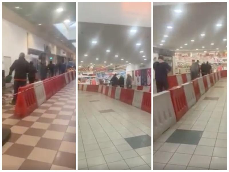 Otwarte sklepy w galerii Auchan
