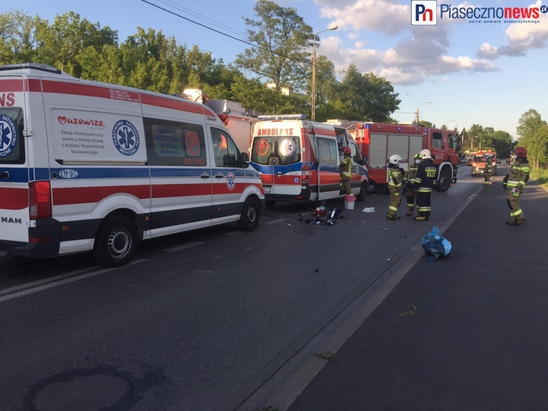 """""""Jeden motocykl przemknął, drugi uderzył w samochód!"""" Dotarliśmy do świadka wypadku [AKTUALIZACJA]"""