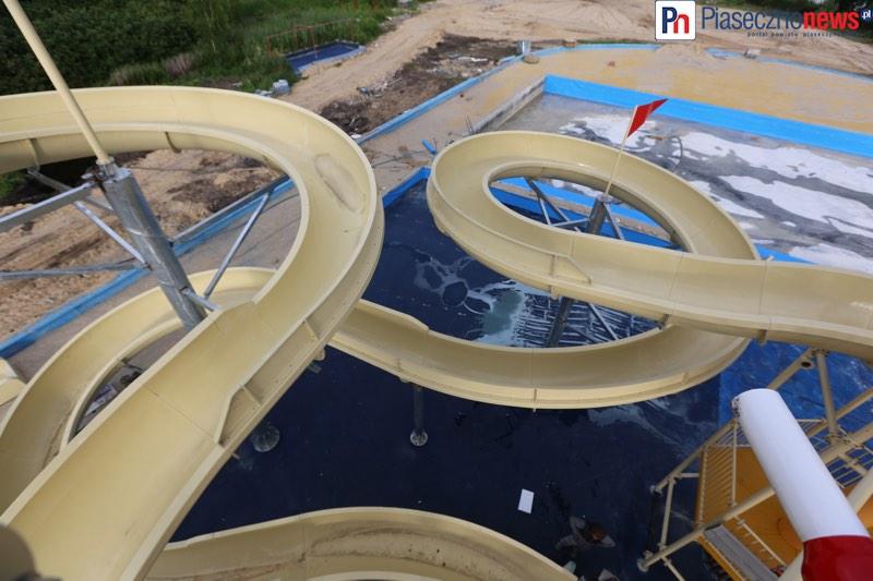 Już wkrótce otwarcie aquaparku w Zalesiu Górnym