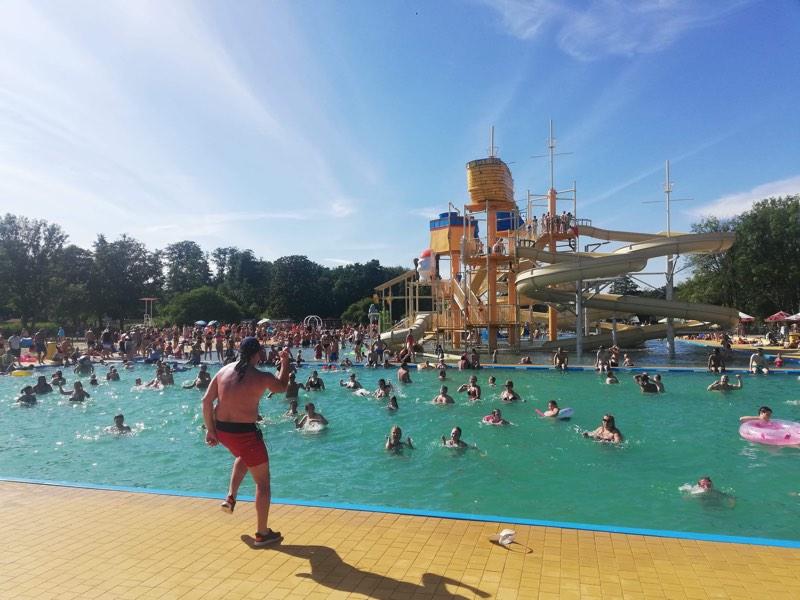 Najfajniejszy basen jest w Zalesiu Górnym!